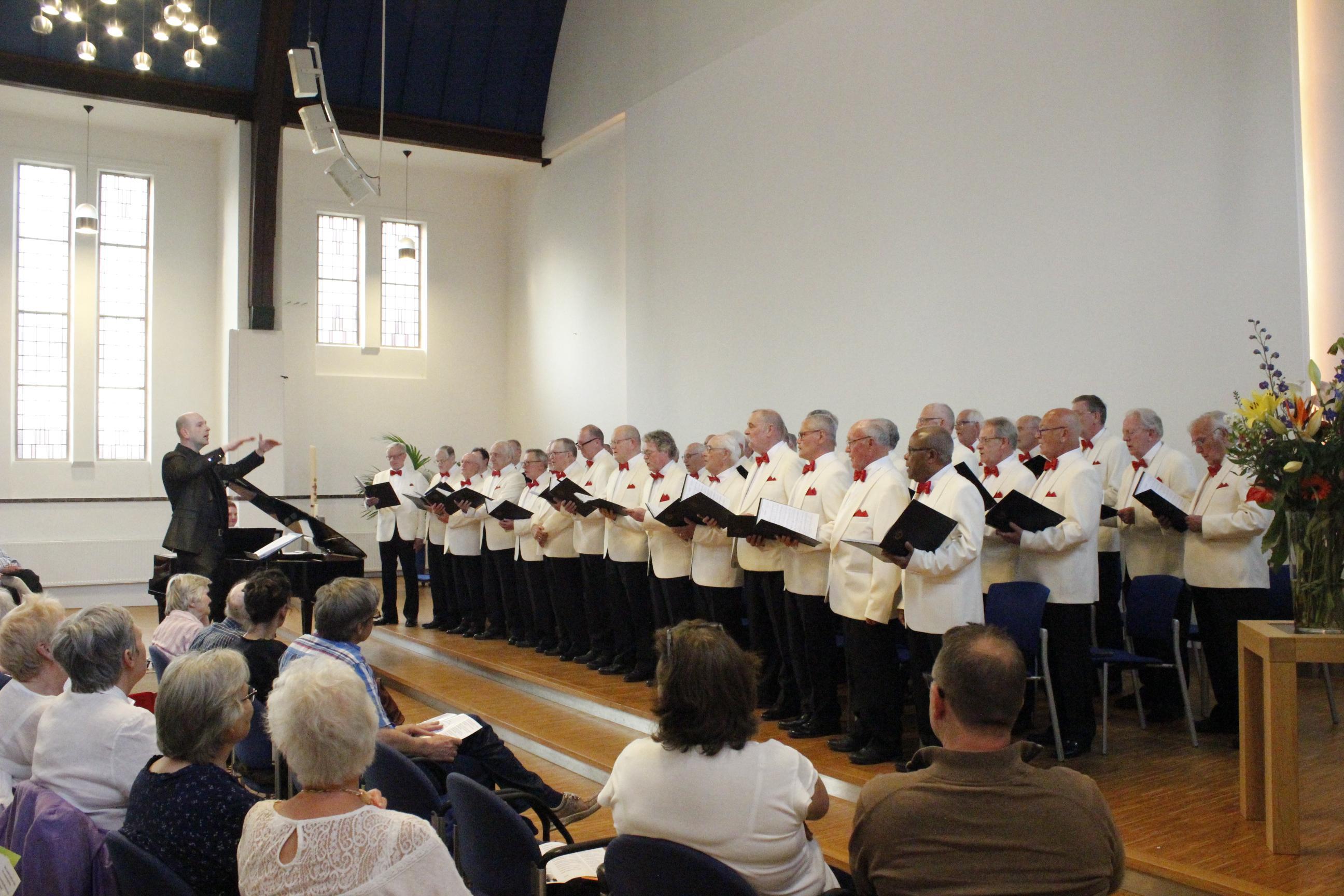 Haarlemmermeers mannenkoor hervat repetities maar wel coronaproof