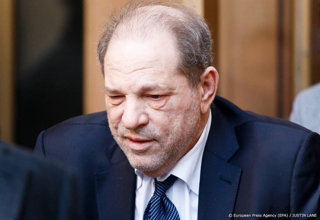 'Harvey Weinstein gaat deze winter in hoger beroep'