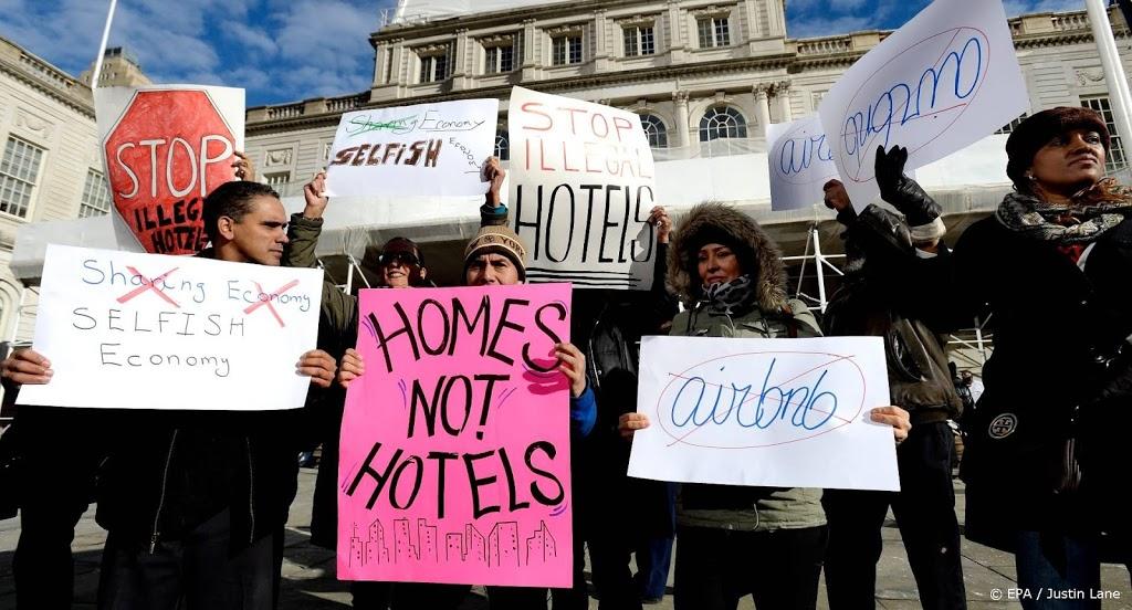 Steden mogen vakantieverhuurders om vergunning vragen