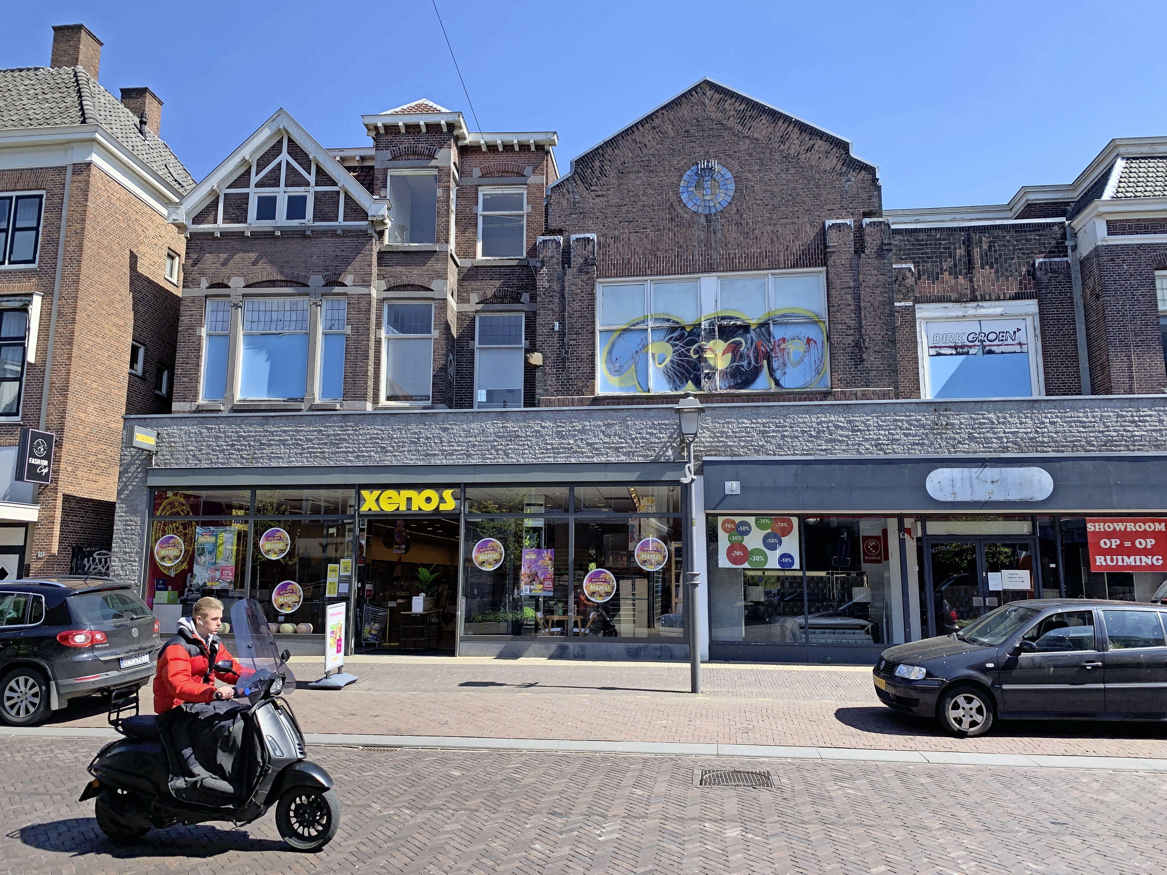 Erfgoedpartijen willen gevels Westzijde redden van de slopershamer: 'De historie van Albert Heijn en aantrekkelijk straatbeeld'