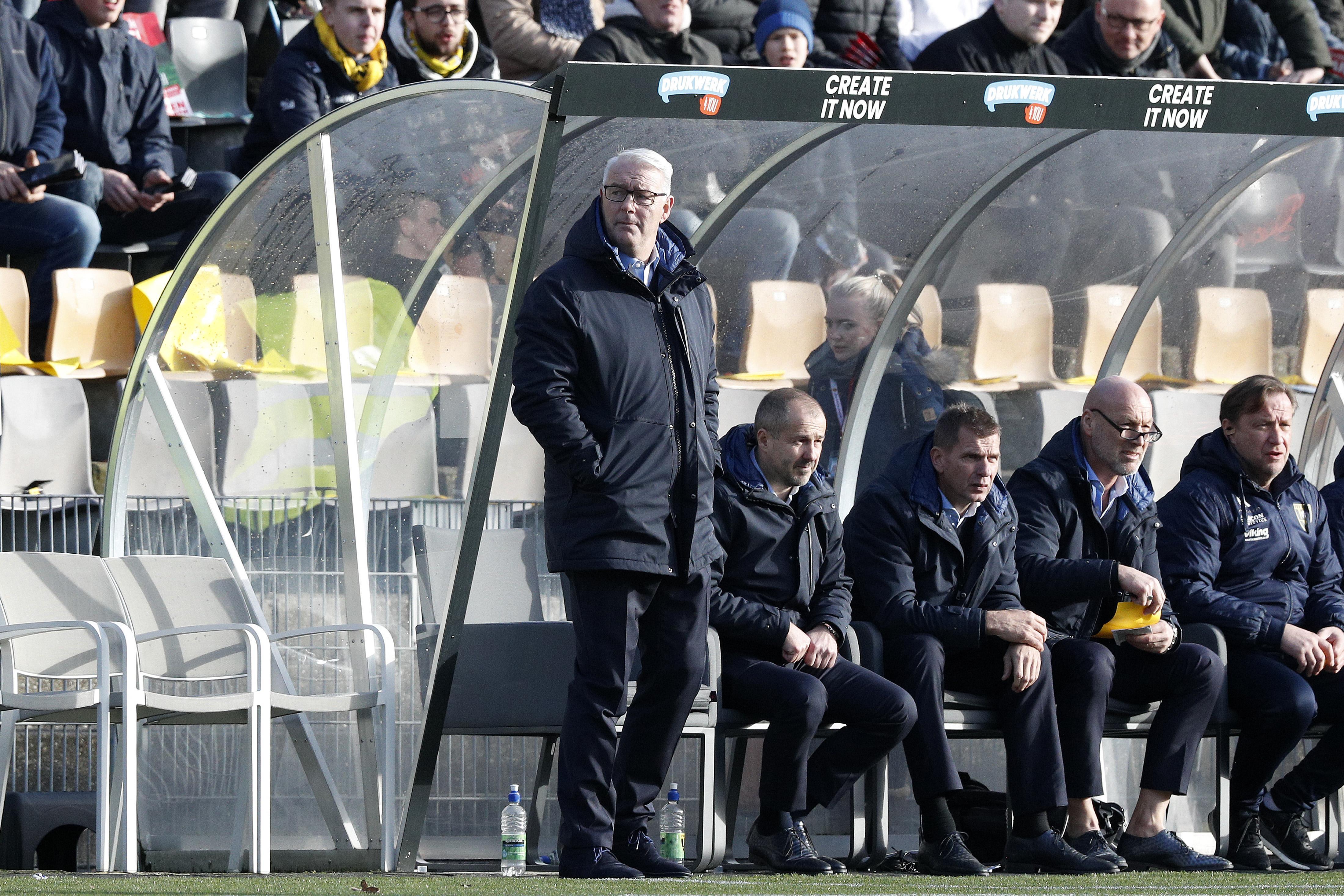 Tevreden VVV gaat verder met Hans de Koning: 'Hans heeft laten zien dat hij weet waar het om gaat'