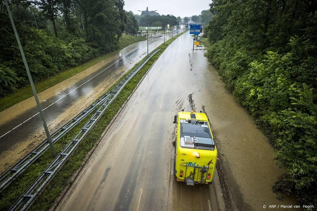Deel A2 van Eindhoven naar Tilburg dicht om wateroverlast