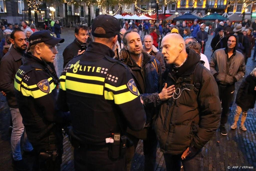 Na demo aangehouden drietal mag 10 dagen Den Haag niet in