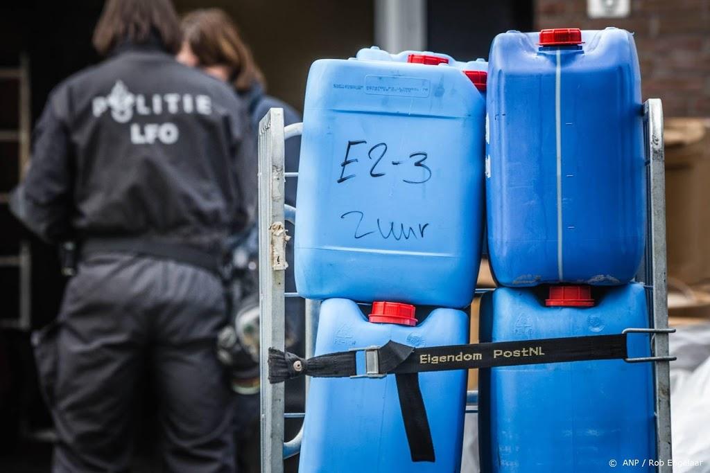Politie rolt fors meer drugslabs op met dank aan kraken EncroChat
