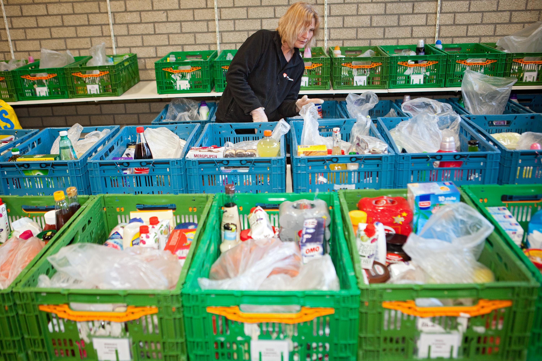 Voedselbank Velsen regelt desnoods een noodluik