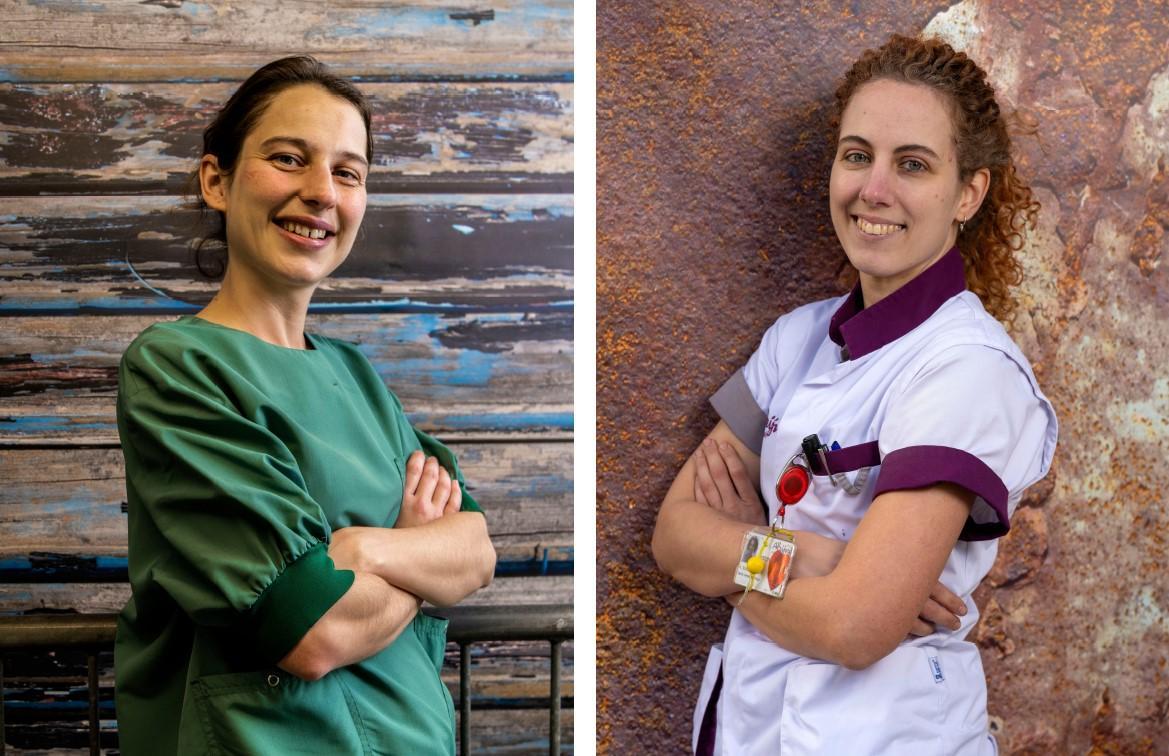 Verpleegkundigen Kirsten Schoenmaker en Emmi Velema, genomineerd als Persoon van het Jaar: Werken waar je nodig bent