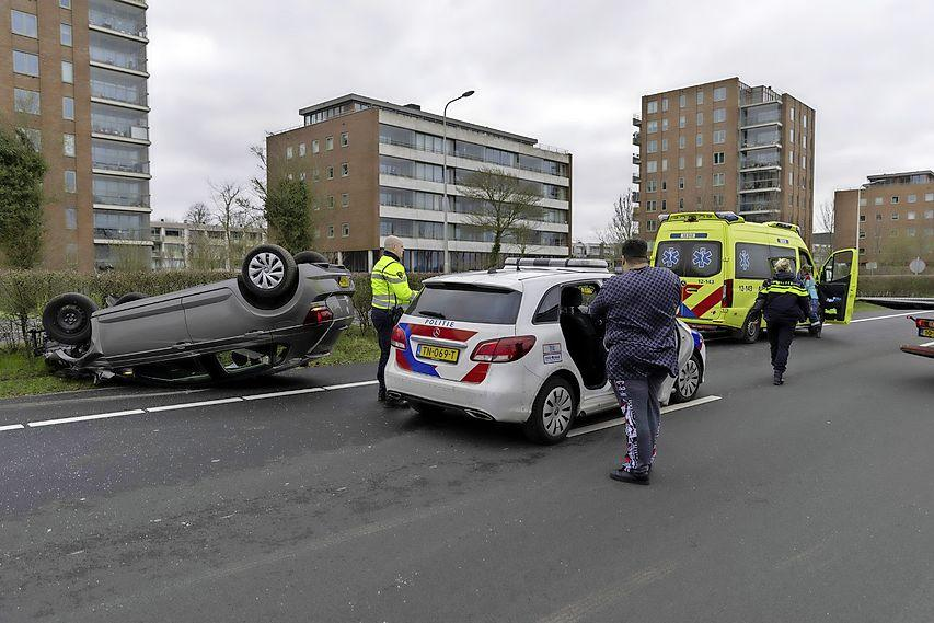 N208 tussen Santpoort-Noord en Haarlem-Noord afgesloten vanwege ongeluk