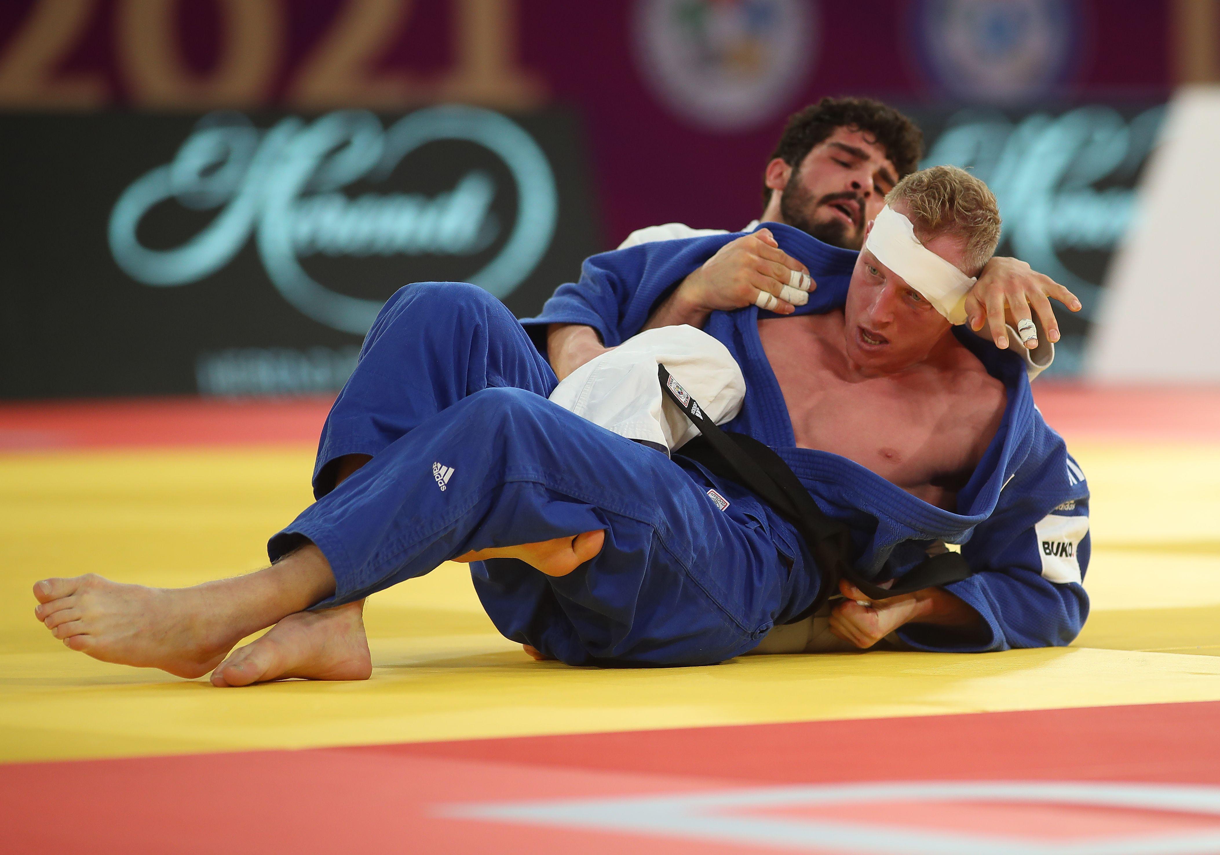 Heemskerkse judoka Frank de Wit verovert zilver bij judotoernooi Masters in Doha