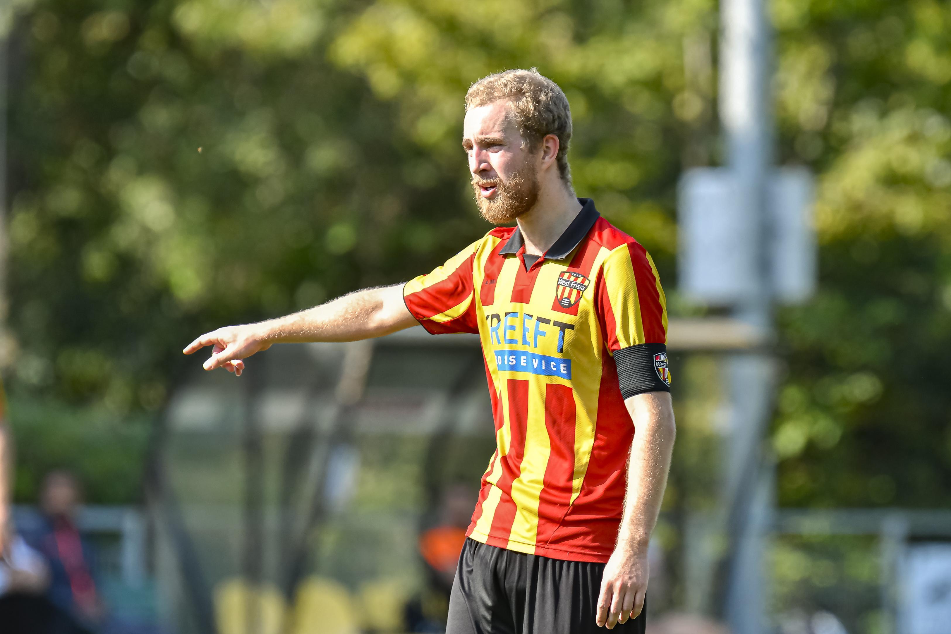 Twee jaar terug gestopte Brian Kaagman komend seizoen aanvoerder van West Frisia: 'Ik ben geen broekie meer en heb genoeg ervaring om te weten waar ik over praat'