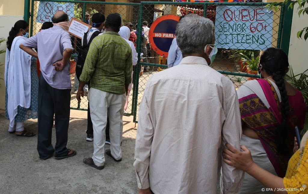 India registreert opnieuw recordtoename coronabesmettingen