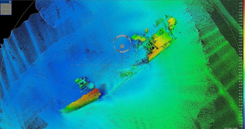 Wrak van fatale scheepsramp in 1970 ontdekt voor de kust van Texel