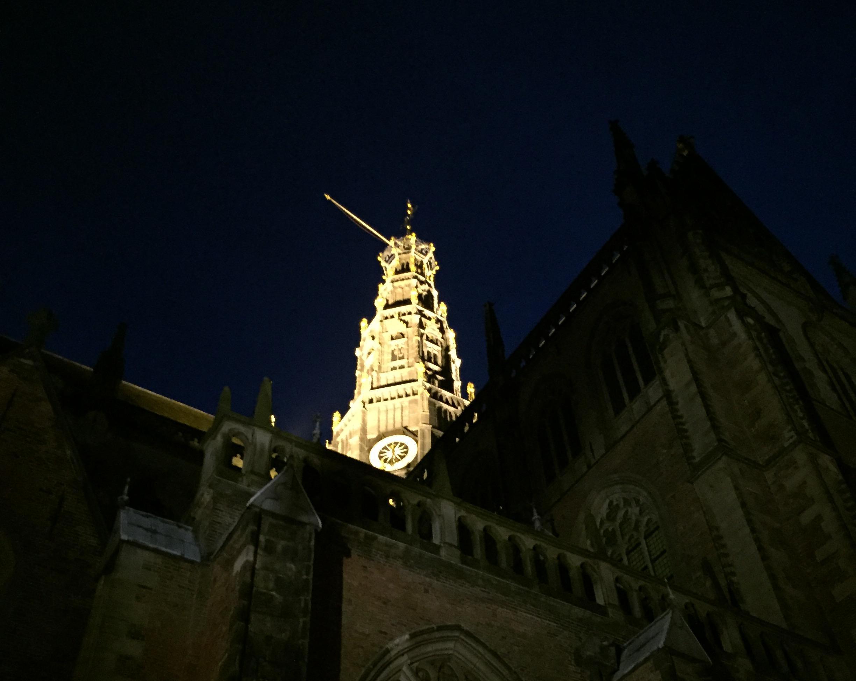 Grote Kerk in Haarlem hult zich vanaf 21 juli in duisternis. 'Mijn ergste nachtmerrie is dat het op Disneyland lijkt'