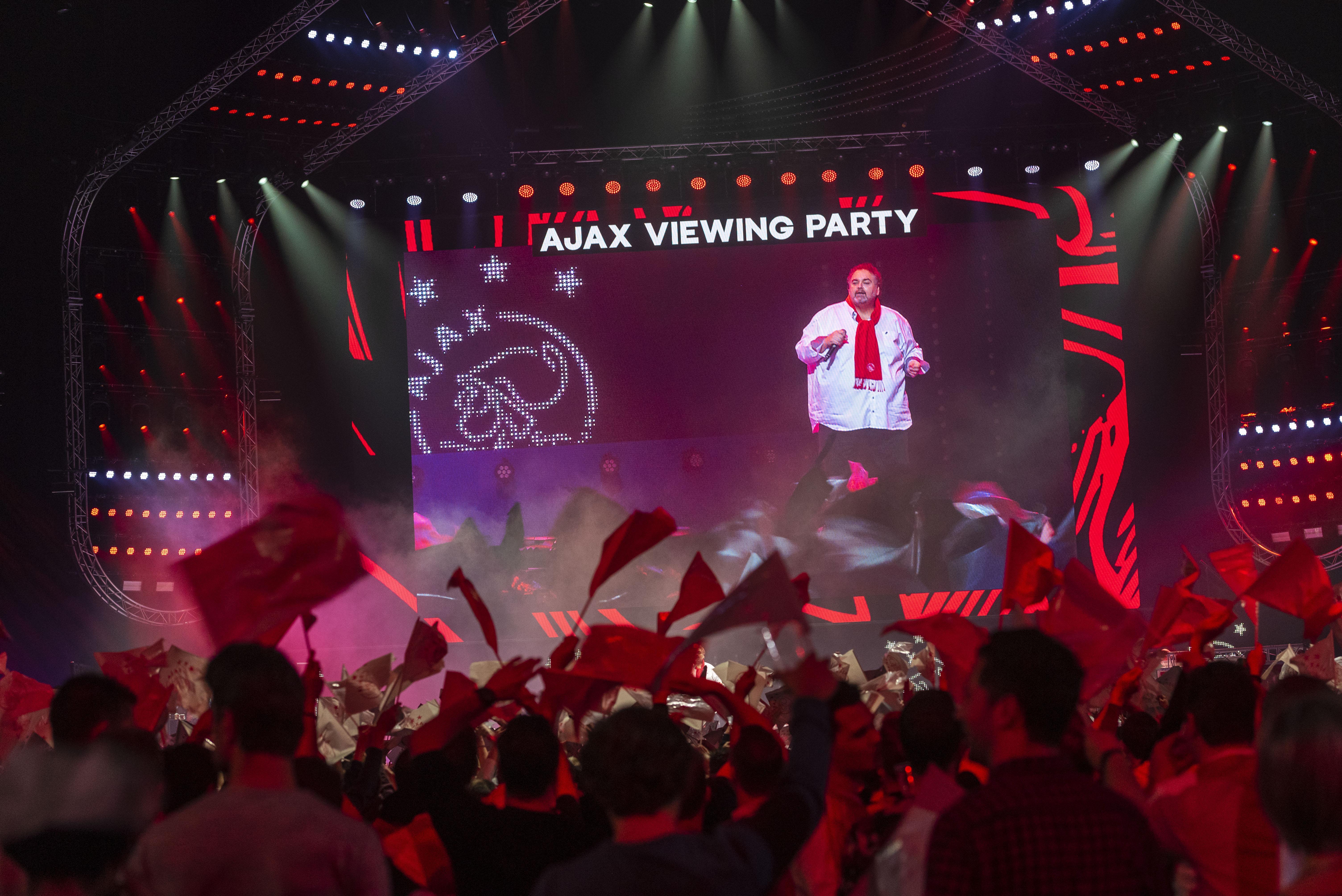 Ajax-Real in de Ziggo Dome: net echt allemaal [video]