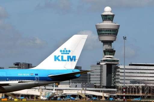 Vertraagd vliegtuig verstoort start viering 100-jarig jubileum KLM