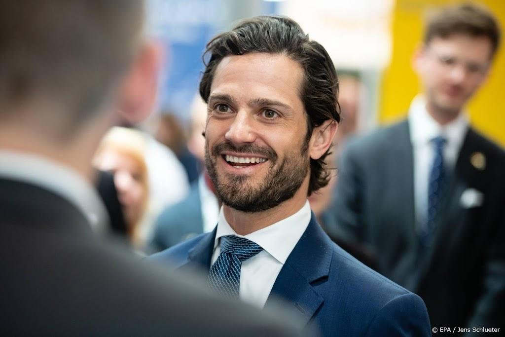 Zweedse prins Carl Philip en vrouw testen positief op corona