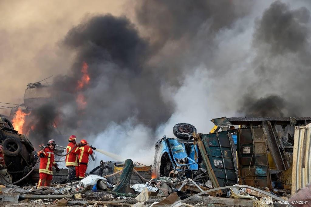Instagrampagina voor vermiste mensen na explosies Beiroet
