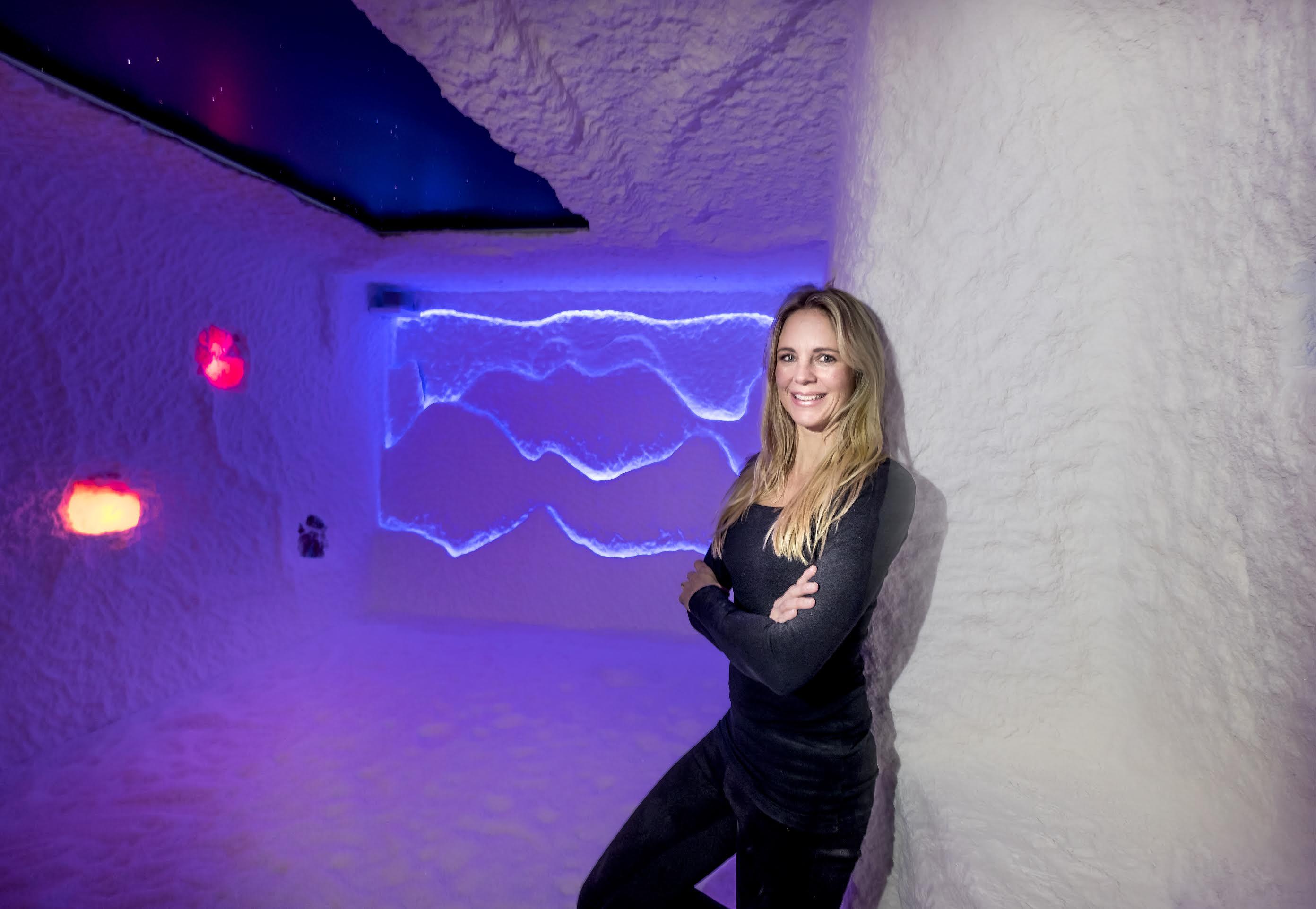 Kim Zandbergen opent in Schagen tweede zoutkamer