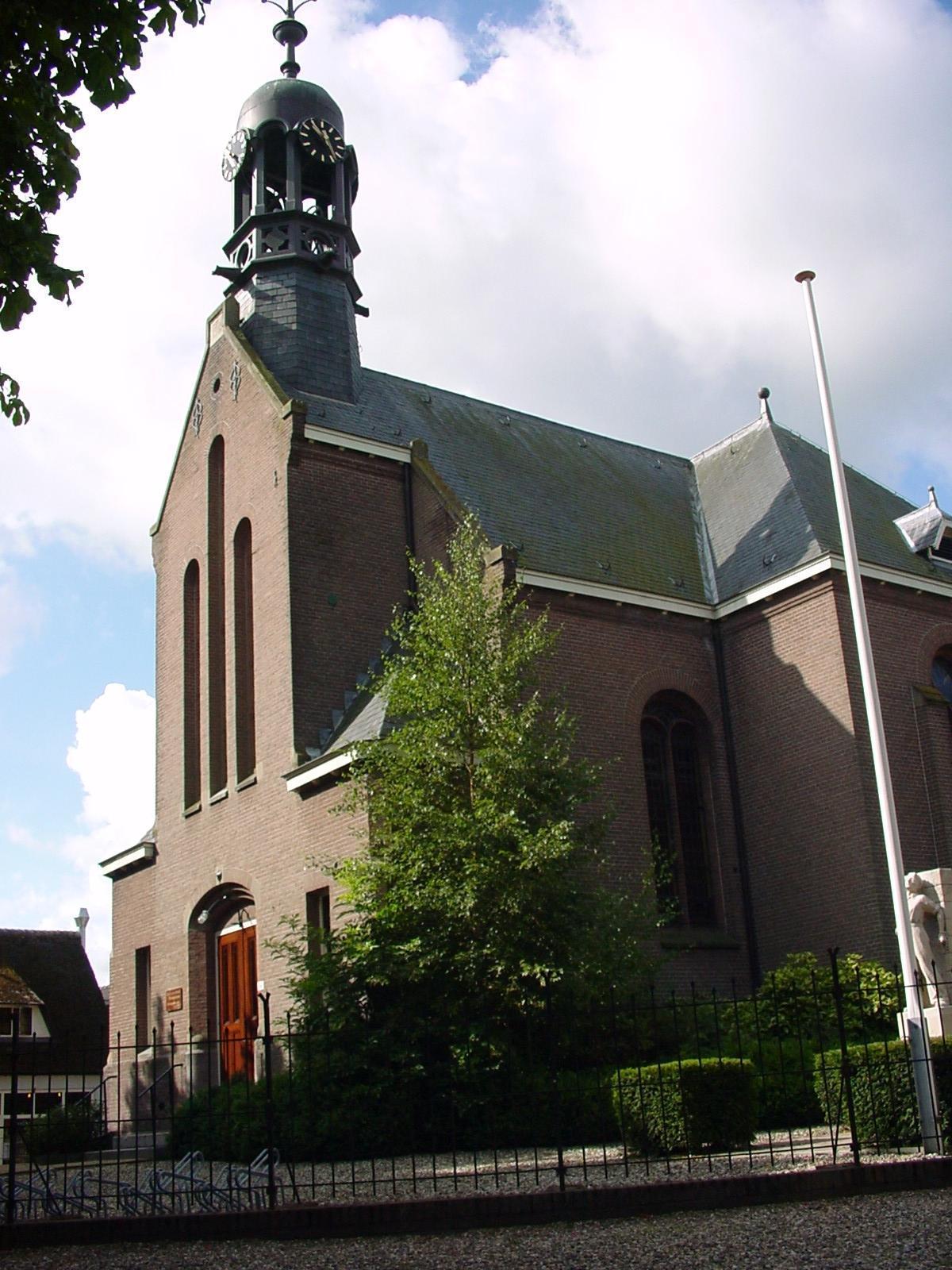Hervormde kerk Aarlanderveen wil vier huizen bouwen voor meer inkomsten: 'Het groepje gelovigen wordt steeds kleiner'