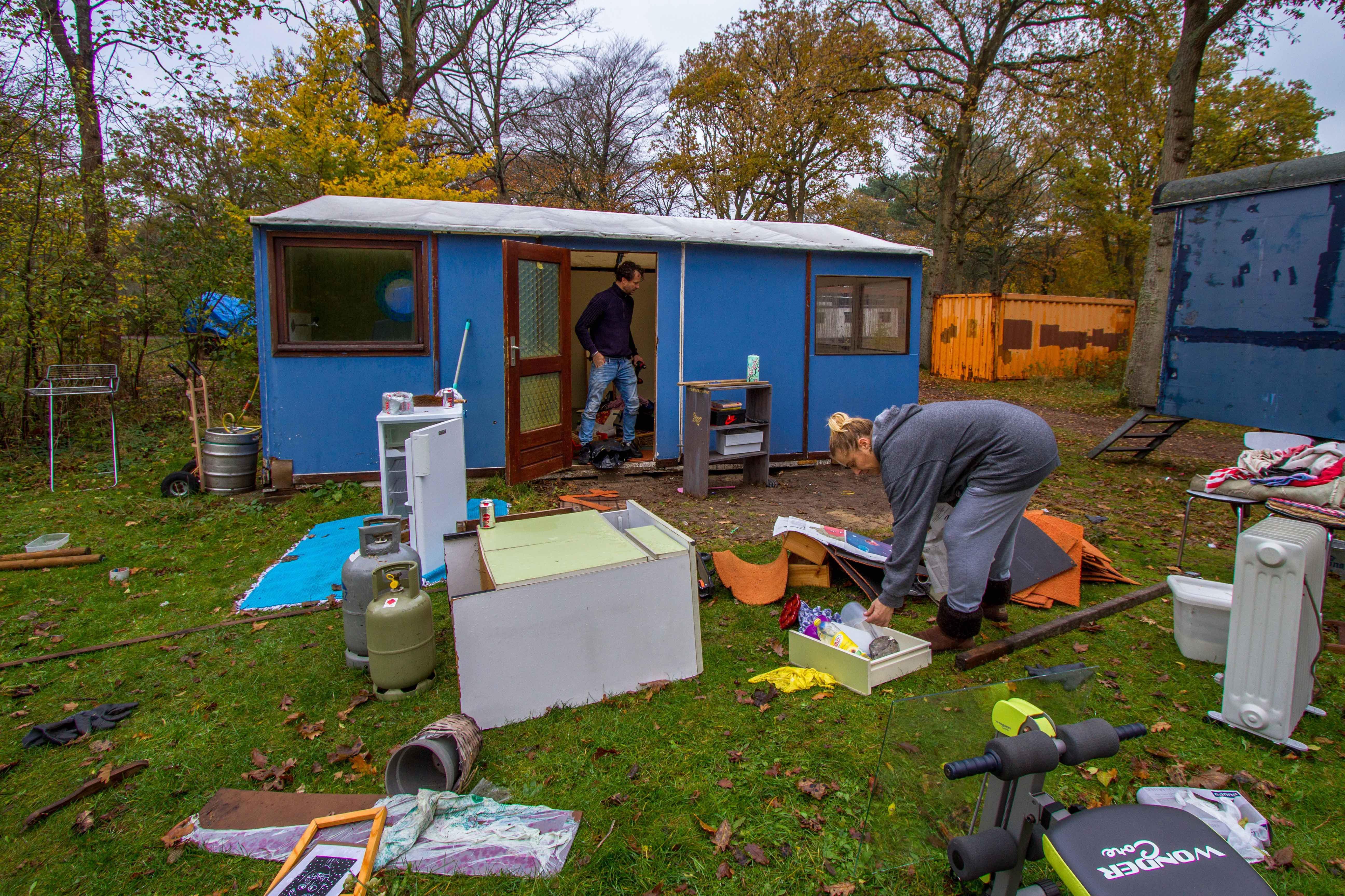 Inpakken en wegwezen, Camping Bakkum gaat de stilte weer in