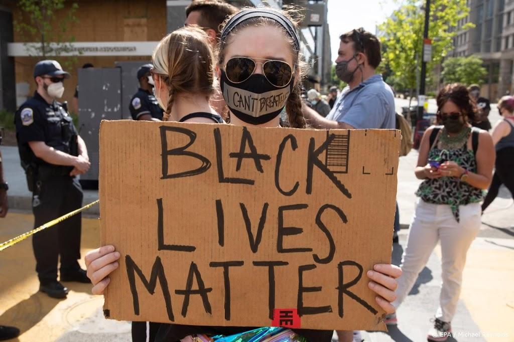 Protesten na dood zwarte tiener VS escaleren