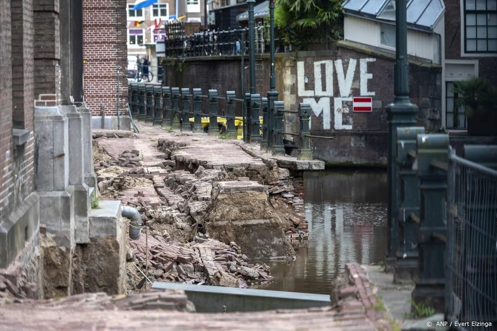 Ingestorte kade Amsterdam was verzwakt door aanvaringen