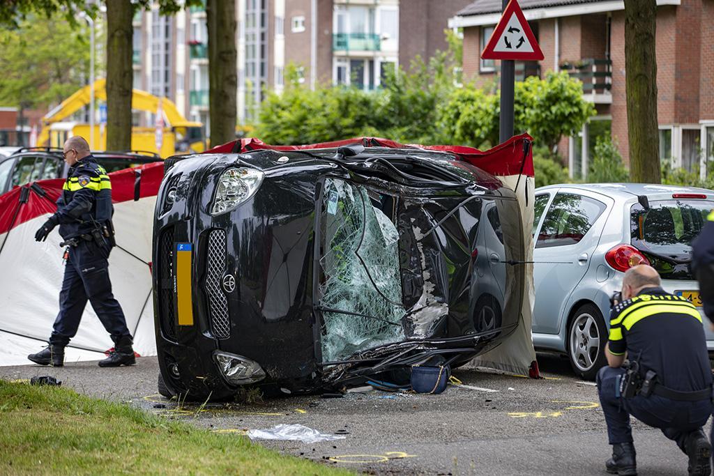Automobiliste (86) omgekomen bij ongeval in Beverwijk