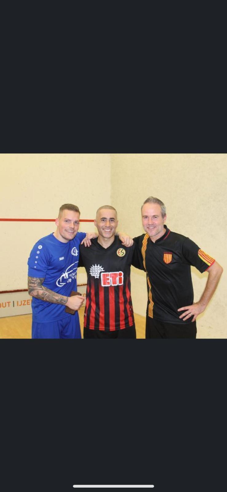'Soccersquash ander spelletje dan voetbal', zegt Ruben Beentjes over eerste toernooi in Alkmaar