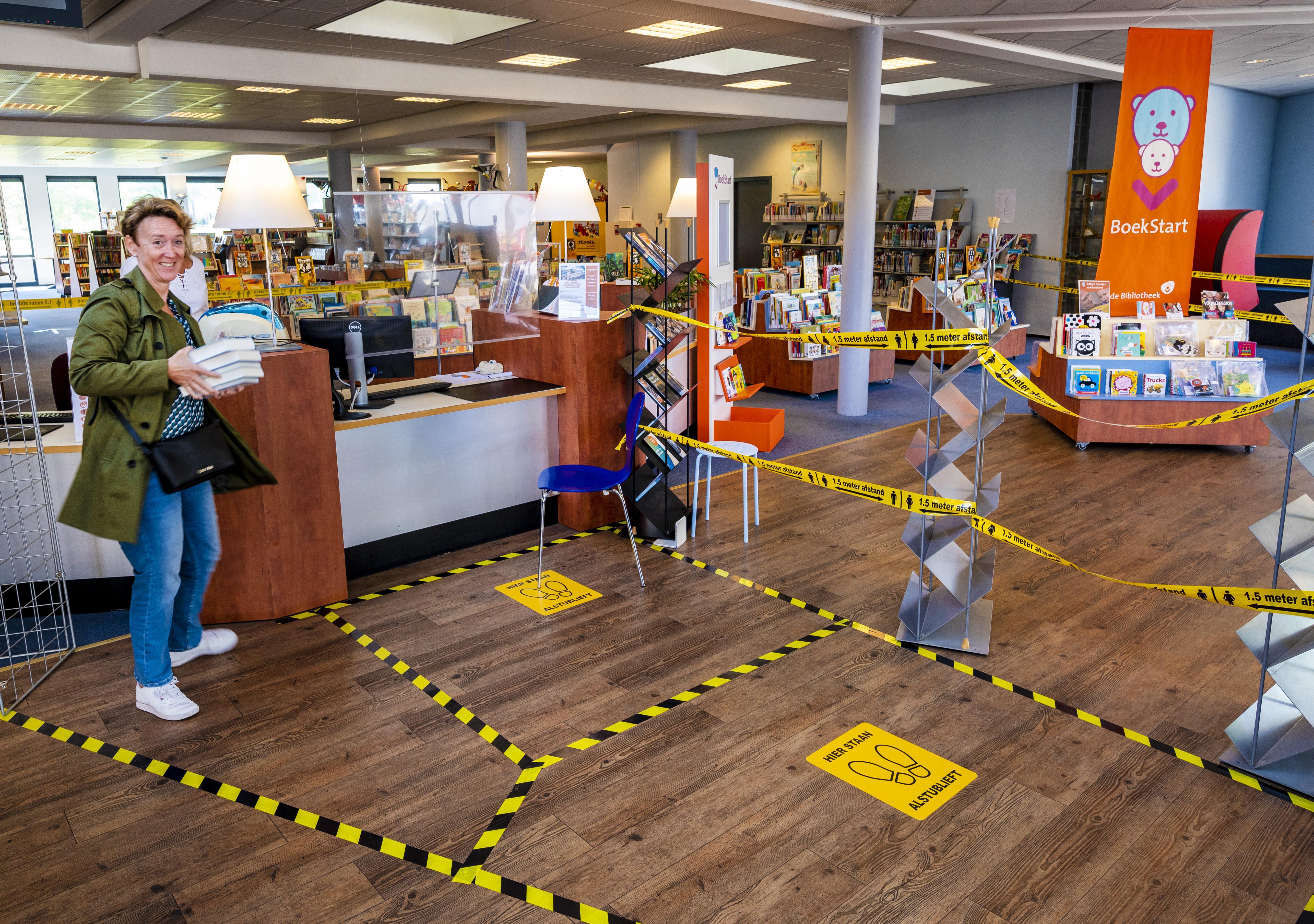 Bibliotheken in Zoeterwoude-Dorp, Hazerswoude-Rijndijk en Ter Aar snel weer open