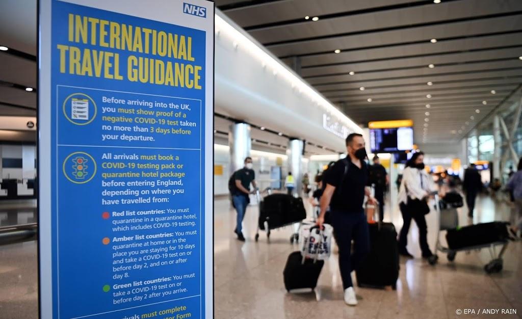 Frankrijk verscherpt regels voor reizigers VK, Spanje en Portugal