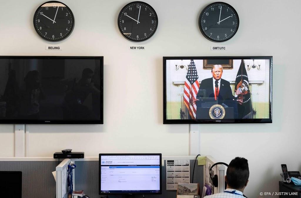 Trump eist actie van Verenigde Naties tegen China
