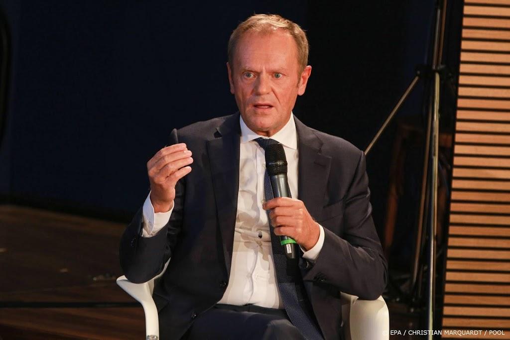 Tusk nieuwe leider grootste Poolse oppositiepartij
