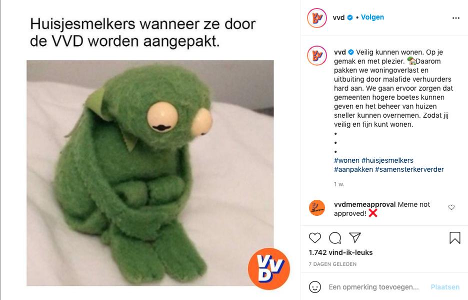 Koken met 'Klaaf' en memes van de VVD: wat doen politieke partijen op sociale media? [video]