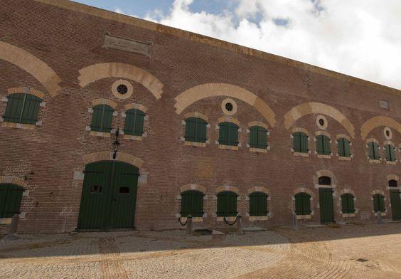 Fort Haerlem staat op vestingwal Hellevoetsluis