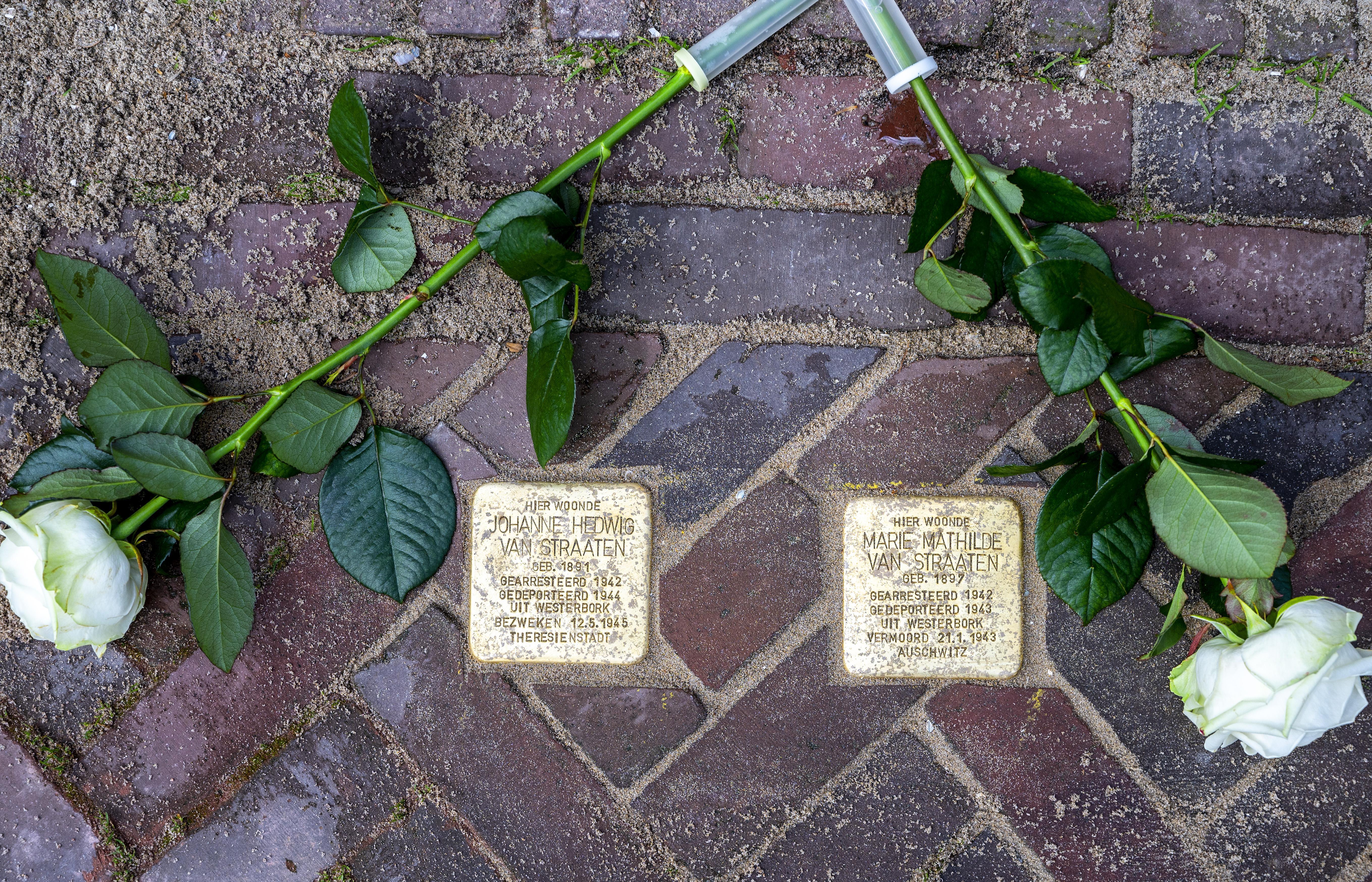 Struikelen over het treurige verleden, deze stenen herinneren aan een bijzondere boekwinkel in Heemstede