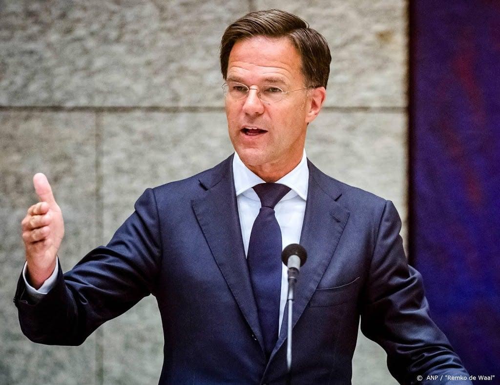 Rutte houdt toespraak bij 75-jarige herdenking bevrijding Indië