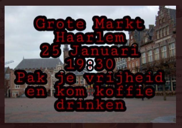 Noodkreet burgemeester Haarlem na oproepen tot 'koffieprotesten' in de stad: 'Ga niet rellen'