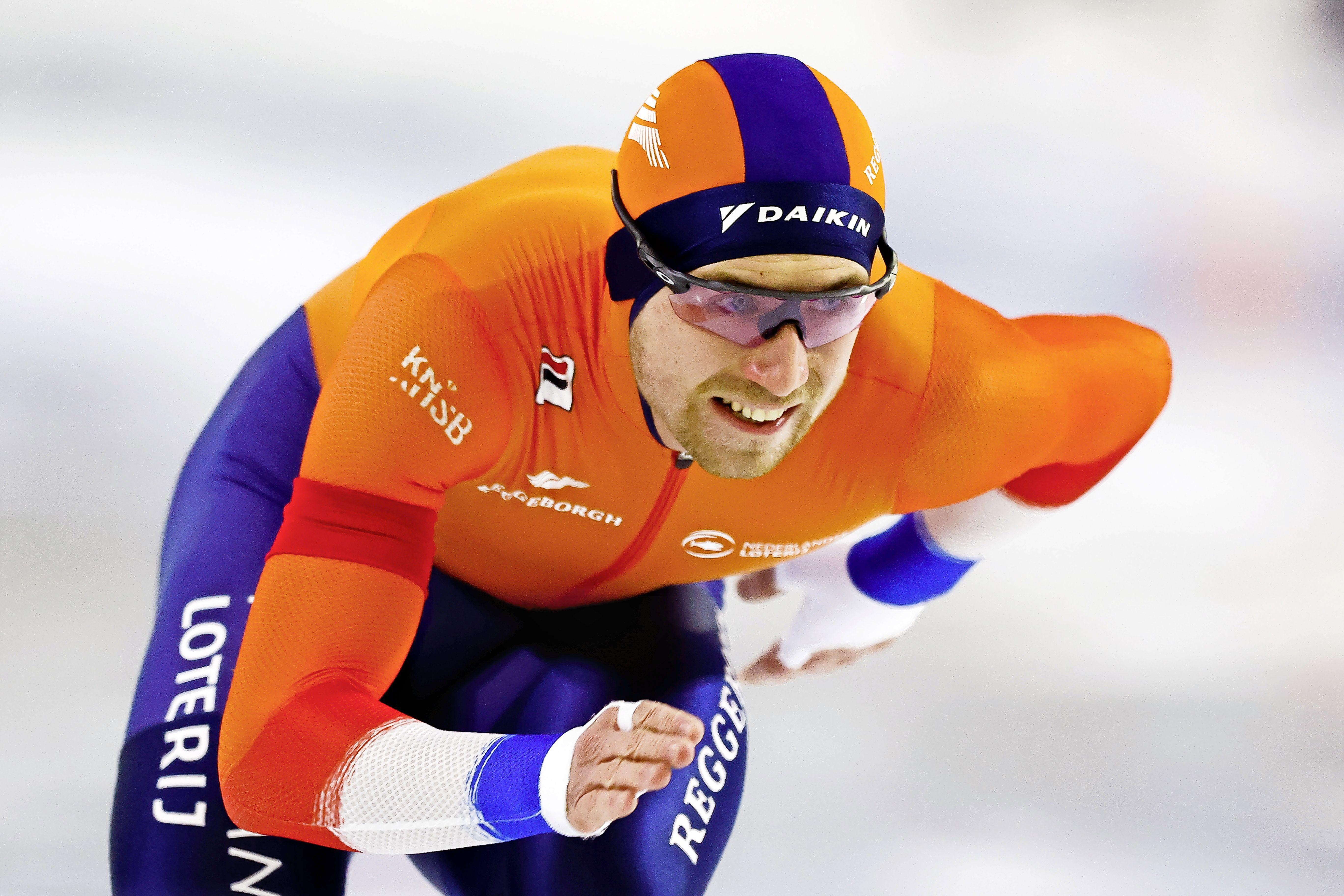 WK-debuut Wesly Dijs omlijst met zevende plaats op 1000 meter