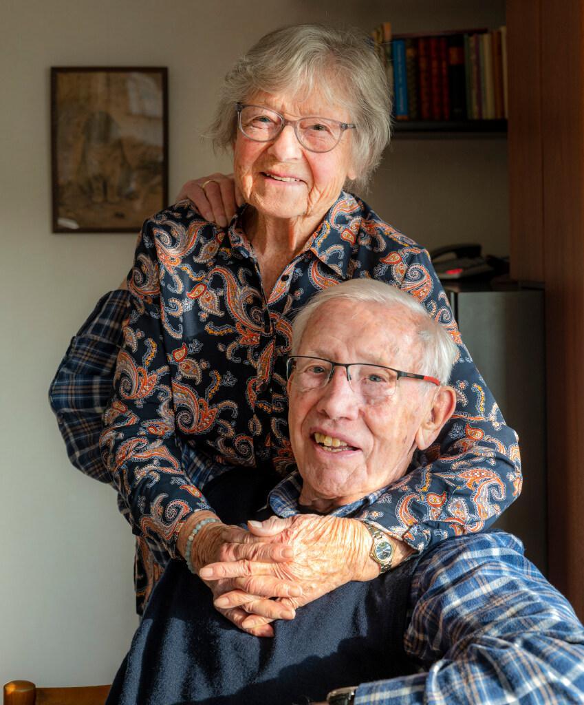 Freddy en Hans Hamel zijn 70 jaar getrouwd:'Ik werd nooit snel verliefd, maar hij was een echte doorzetter'