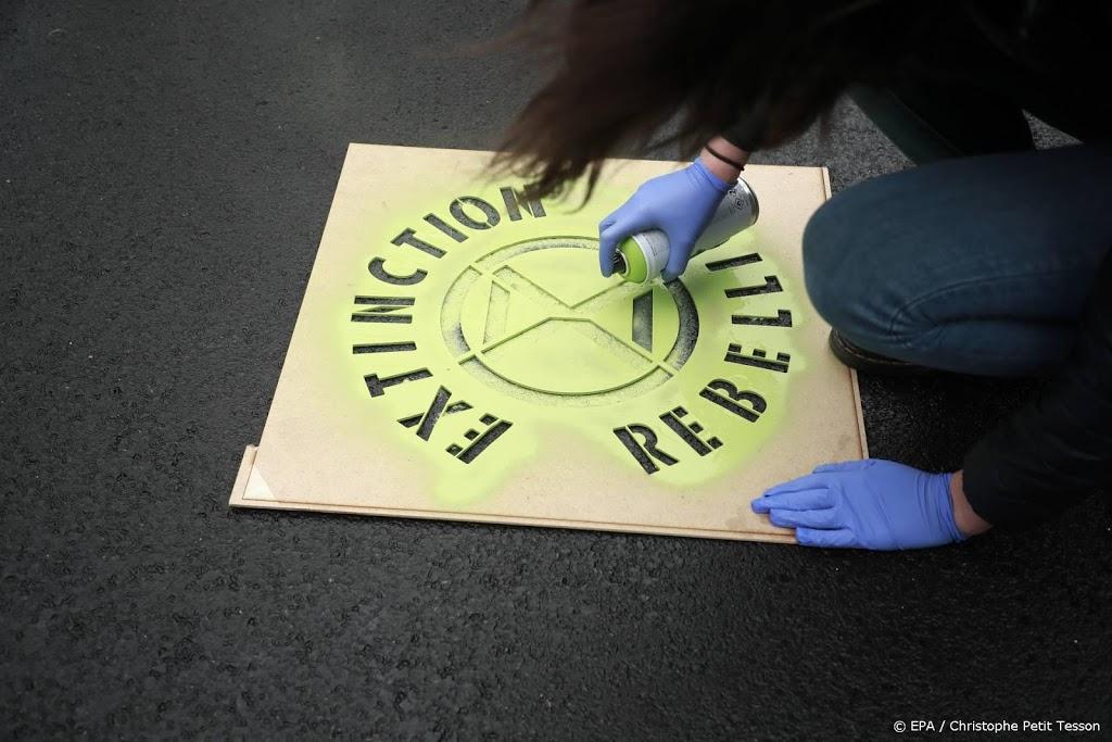 Actievoerders Extinction Rebellion opgepakt in Den Haag en Breda