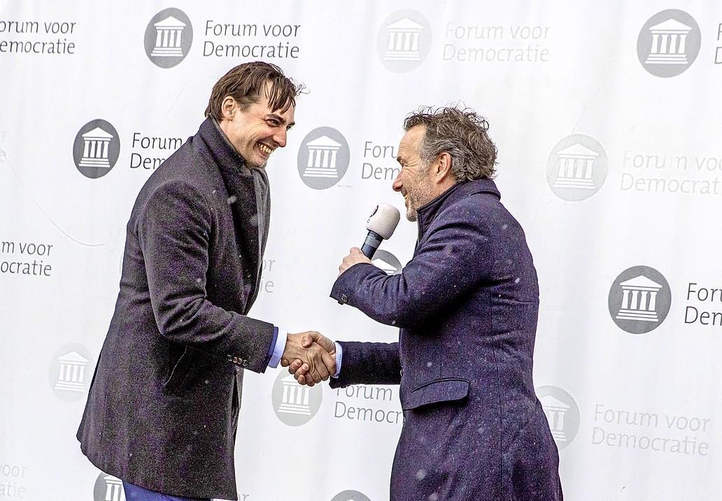 Rasopportunist Wybren van Haga zag weer een gaatje, van liberale backbencher tot fractievoorzitter van de Lijst Van Haga Vooruit | commentaar