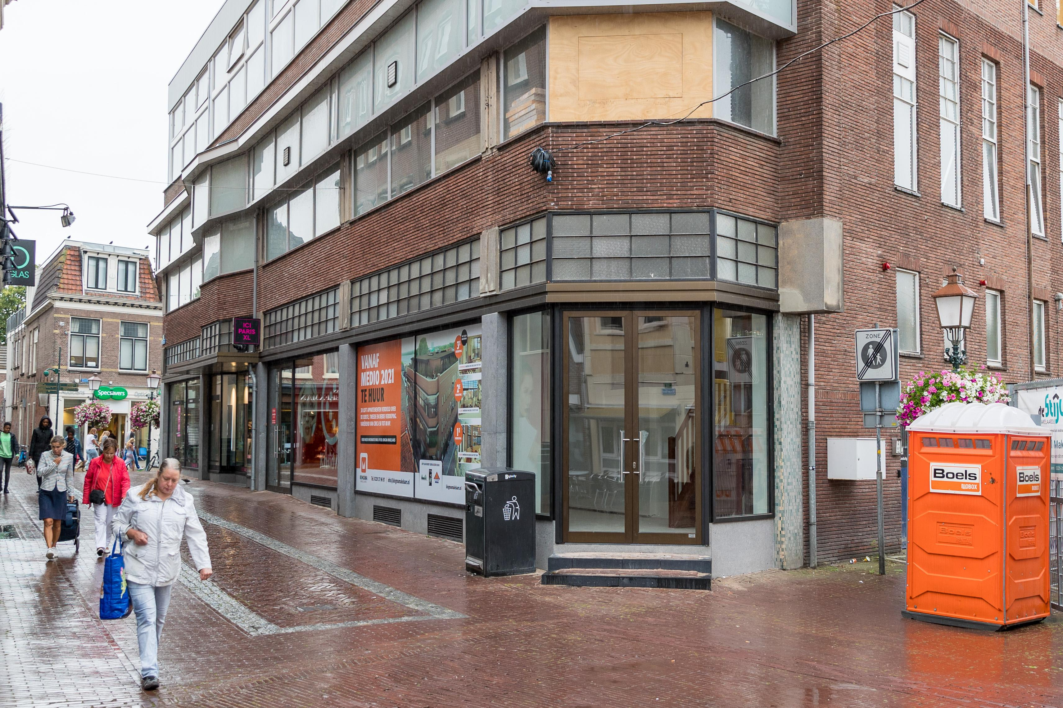 Hoorn besloot begin 2019 al om 'wonen boven winkels' te subsidiëren, maar het geld is er nog niet