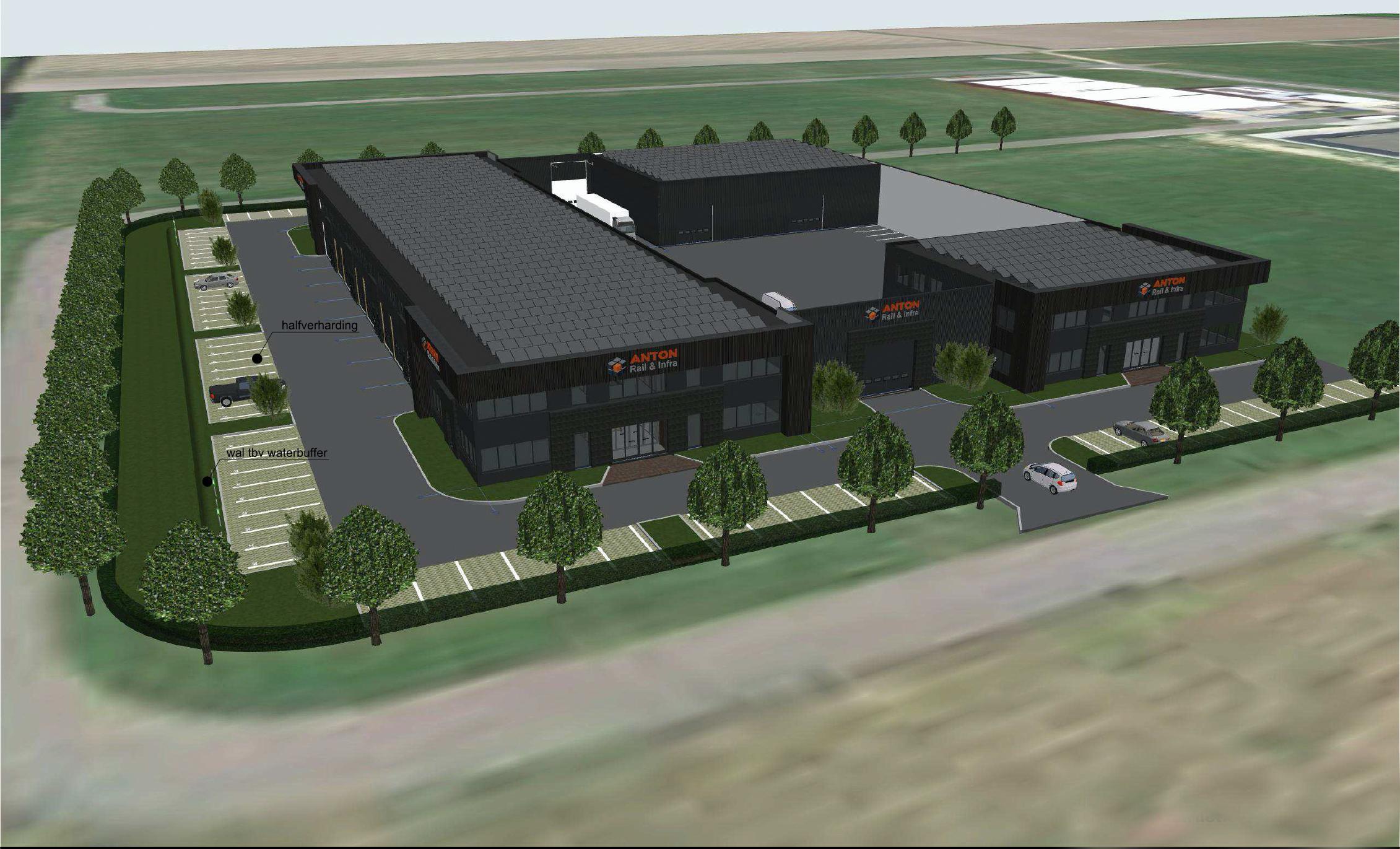 Anton Infra Groep en worstmakerij nieuwe aanwinsten voor bedrijventerrein De Vaandel in Heerhugowaard