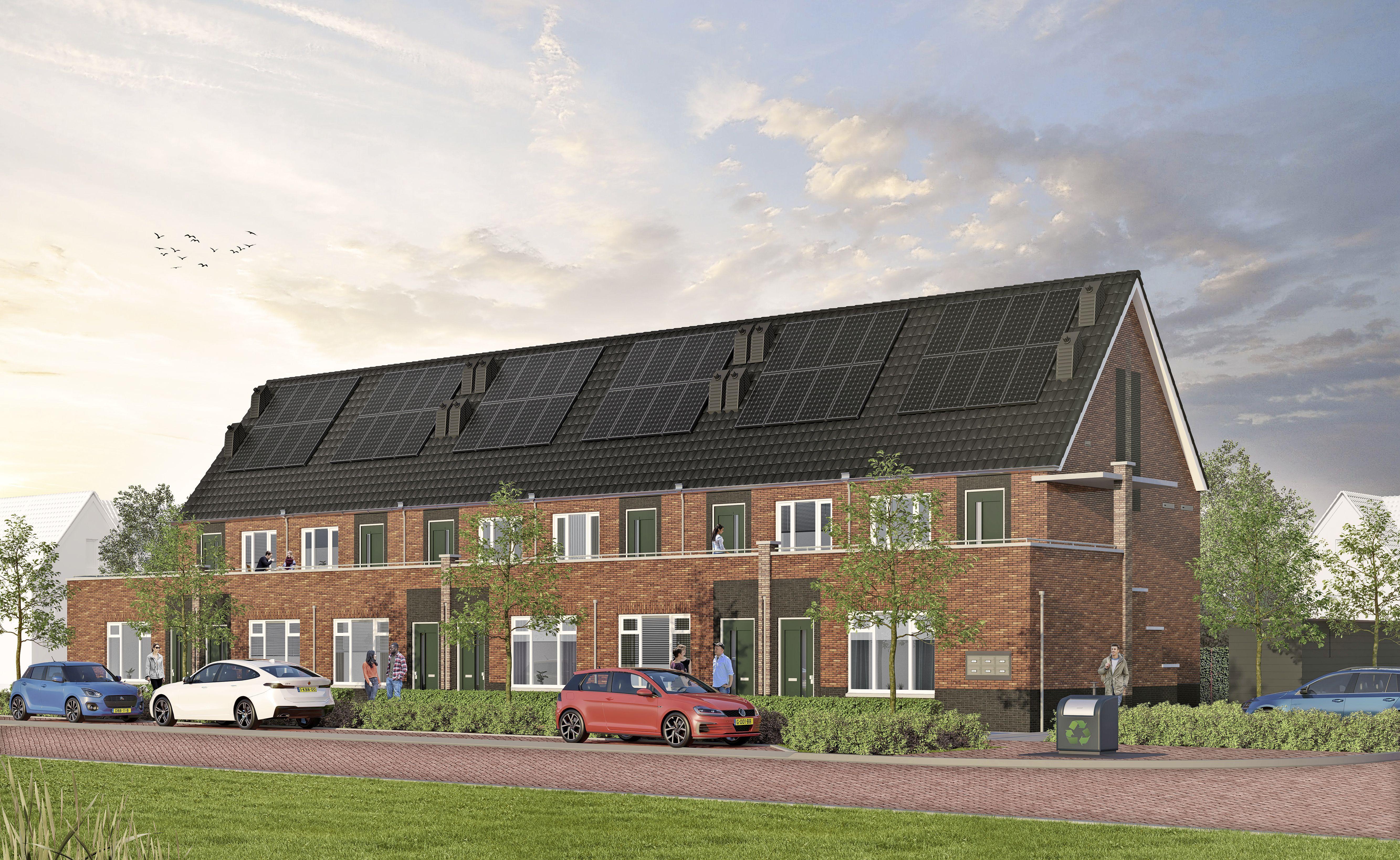 Starters, opgelet: twaalf gasloze nieuwbouwwoningen in Blokker, voor 173.900 euro vrij op naam