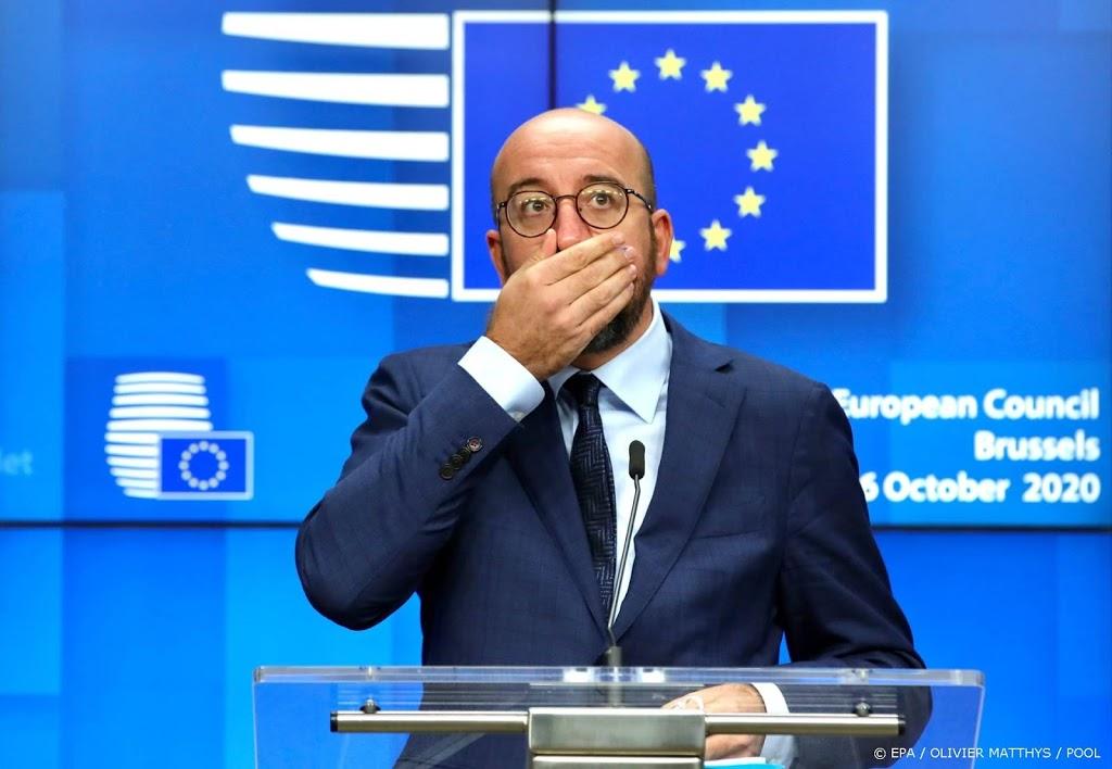 EU-leiders spreken elkaar volgende week over opvlammend virus
