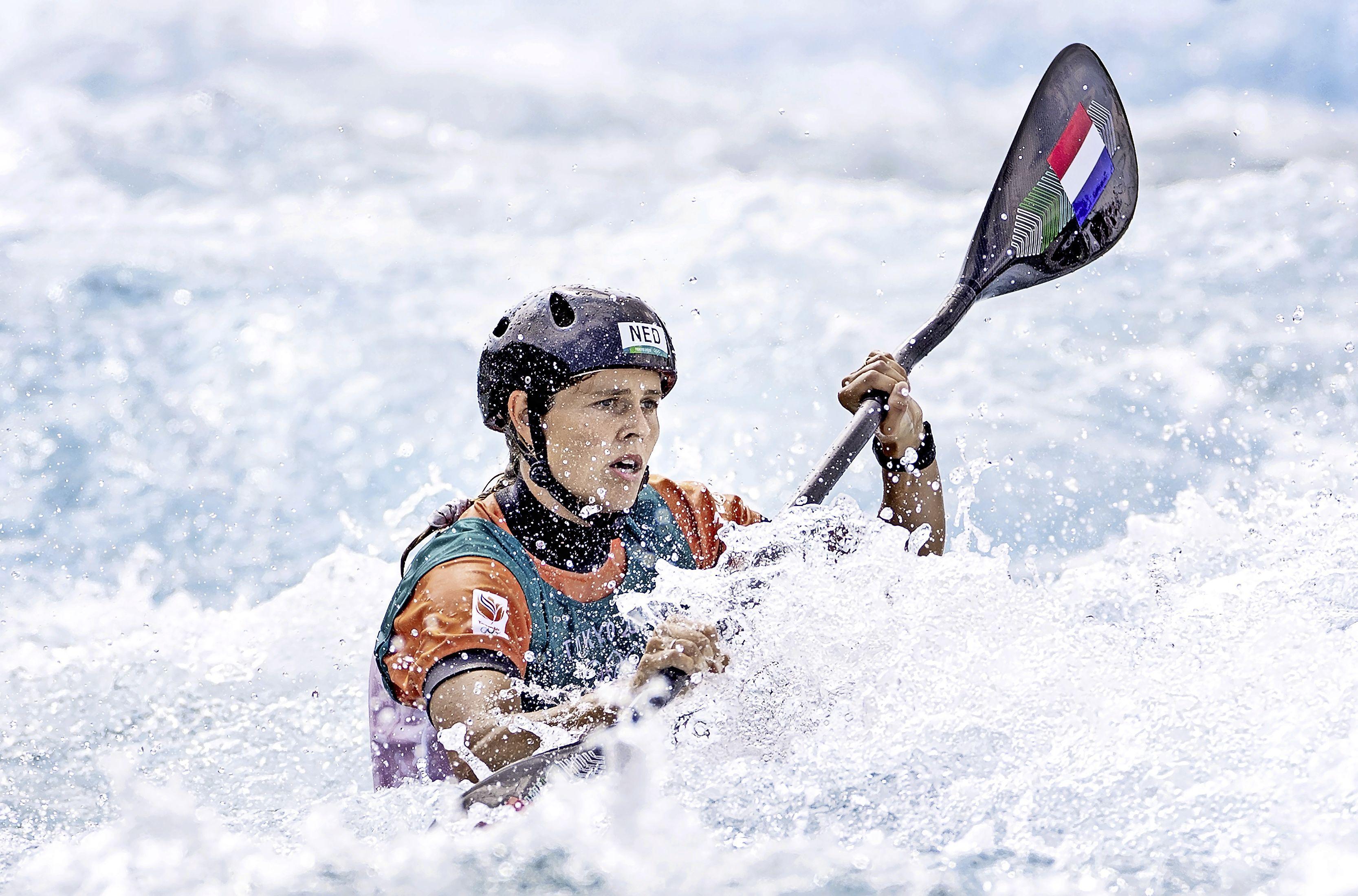 Kanoslalomster Wegman zoekt ook op de Spelen uitdaging: 'Het is mijn doel om ook echt bij de top te gaan horen'