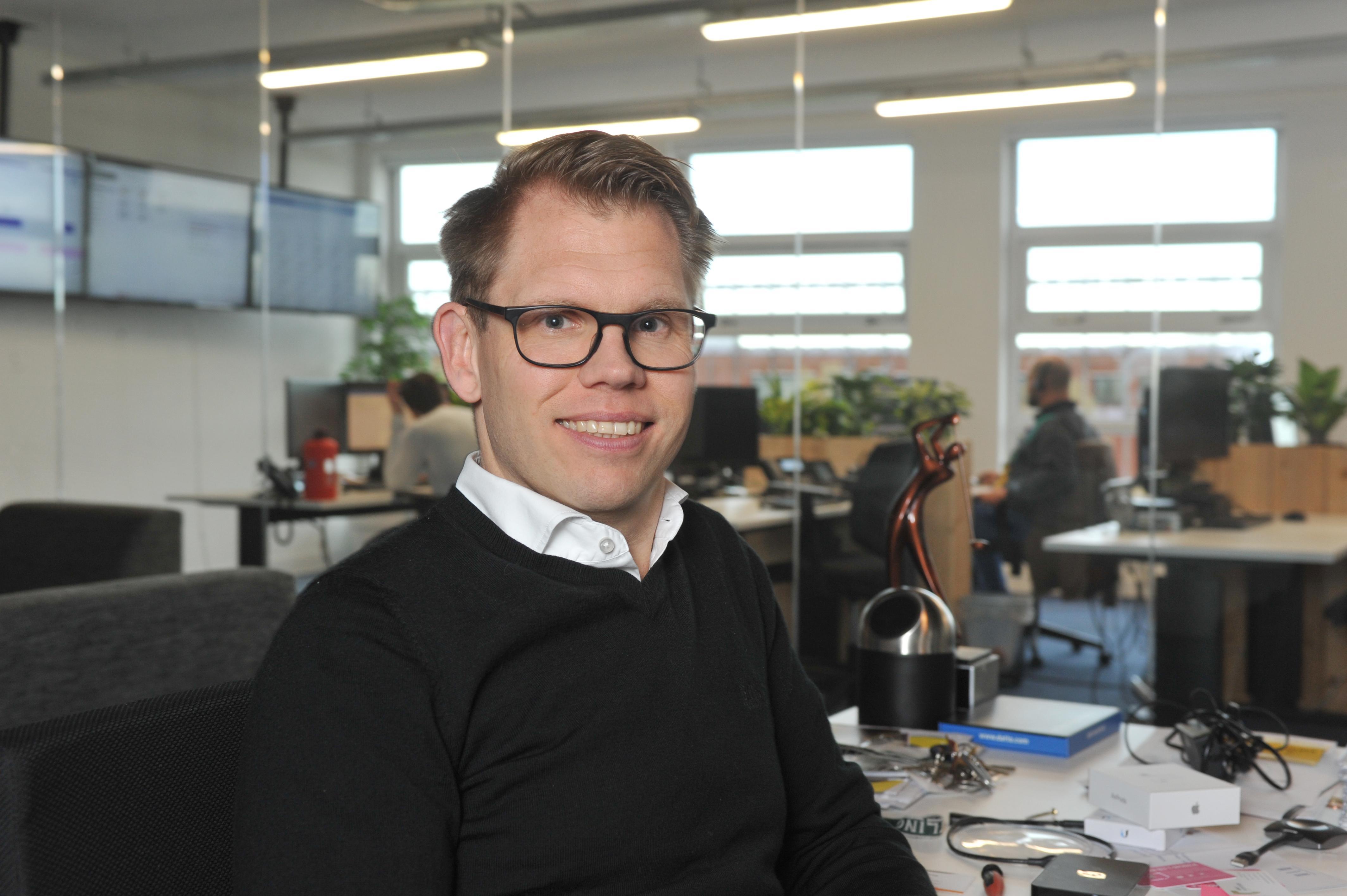 Na de zolderkamer ging het heel snel met het ICT-bedrijf JG Solutions van Jeroen Gosselink. '2020 is voor mij een topjaar'