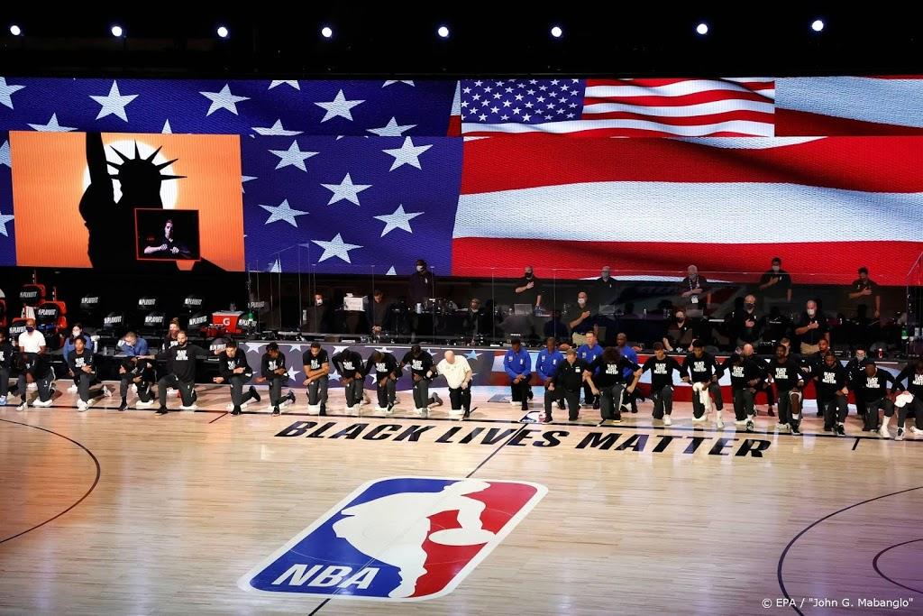 Basketbalcompetitie NBA stelt duels uit na boycot