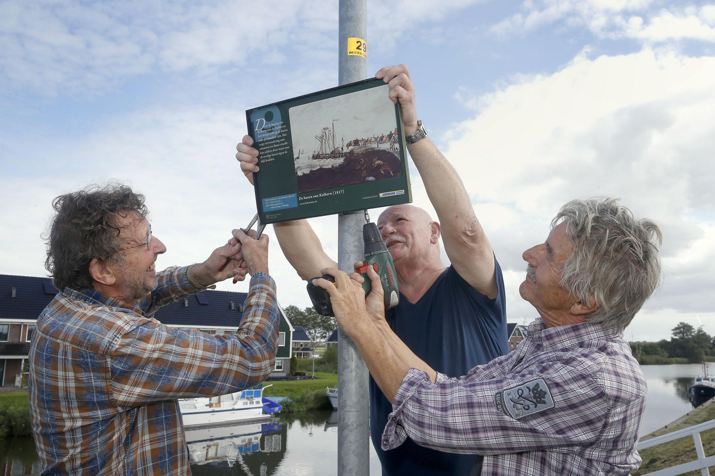 Oeps, het havengezicht in Kolhorn is niet van Cornelis Bok, maar van Cornelis Kok
