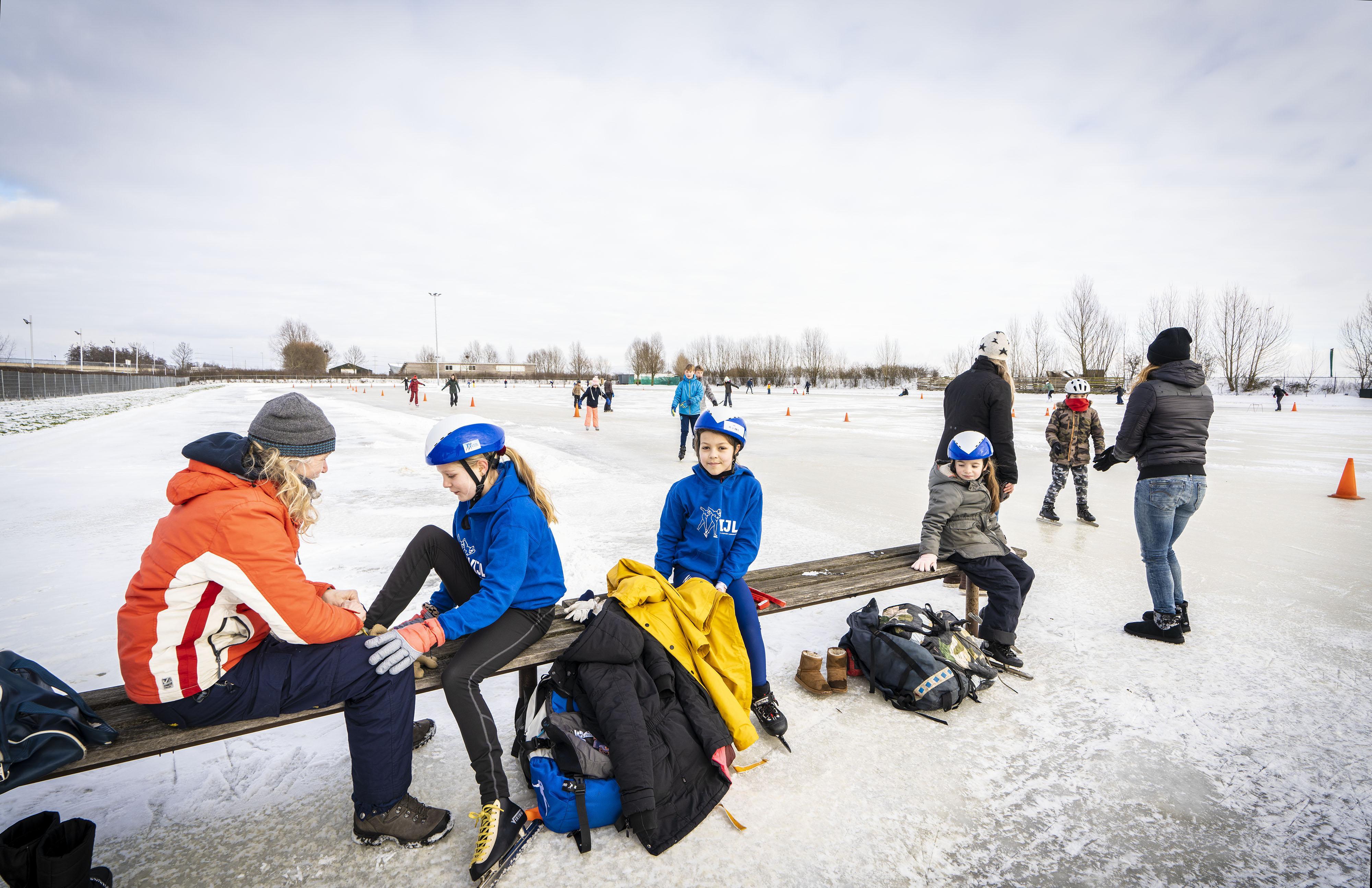 Welke ijsclubs hebben de natuurijsbaan geopend? Bekijk het op de kaart