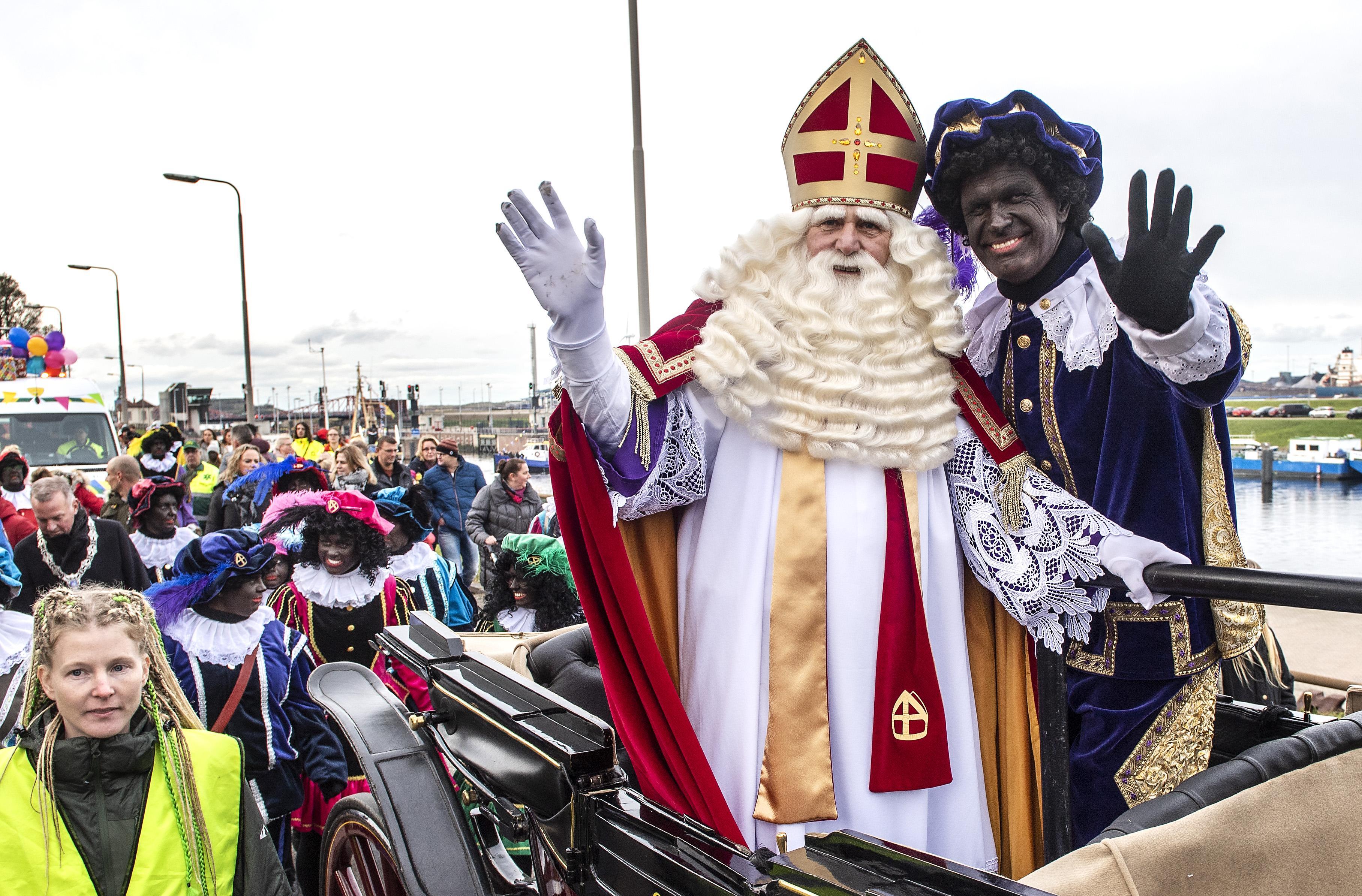 Sinterklaas in IJmuiden mist de optocht, maar veiligheid gaat voor: 'Alles komt weer goed en het sinterklaasfeest kan doorgaan'